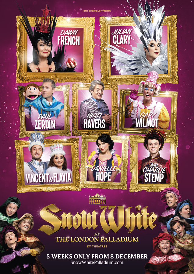 snow white london palladium