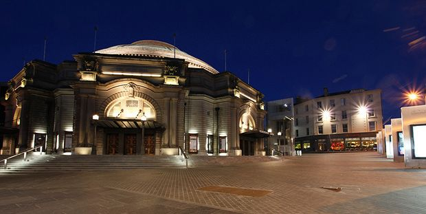 usher hall night